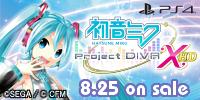PS4 初音ミク -Project DIVA- X HD