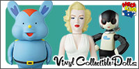 Vinyl Collectible Dolls
