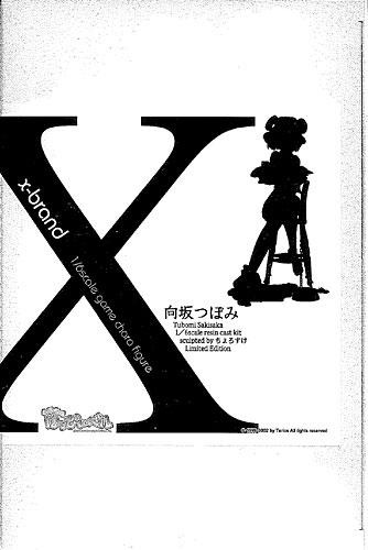 向坂つぼみ x-brand