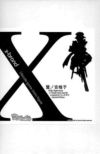 鷺ノ宮椎子 x-brand