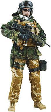 【クリックで詳細表示】ホットトイズ・ミリタリー 英国軍王室騎兵隊 ブルーズ・アンド・ロイヤルズ連隊 タンク・コマンダー In アフガニスタン 1/6スケールフィギュア 単品[ホットトイズ]《在庫切れ》Hot Toys Military - 1/6 Scale Fully Poseable Figure: British Army Blues And Royals Regiment In Afghanistan - Tank Commander
