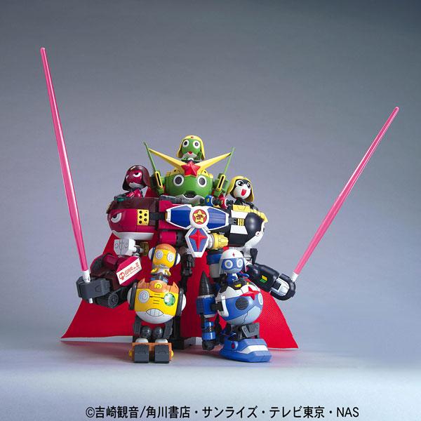 ケロロ軍曹 プラモデルシリーズ DX03 ゴッドケロン(再販)[バンダイ]《在庫切れ》