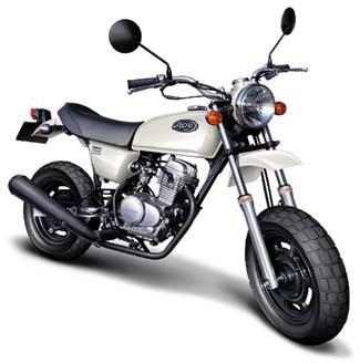 1/12 ネイキッドバイク No.56 ホンダ エイプ50(通常版) プラモデル(再販)[アオシマ]《在庫切れ》