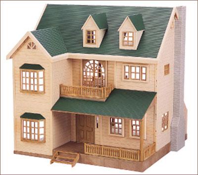 シルバニアファミリー ハウス 緑の丘のすてきなお家