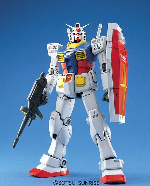 【クリックで詳細表示】【中古】(本体A-/箱B)MG 1/100 RX-78-2 ガンダム (Ver.1.5) プラモデル[バンダイ]《発売済・在庫品》