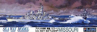 1/700 シーウェイモデル No.21 戦艦 ミズーリ プラモデル(再販)[フジミ模型]《取り寄せ※暫定》