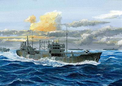 1/700 シーウェイモデル 日本海軍特設給油艦 極東丸 プラモデル[フジミ模型]《取り寄せ※暫定》