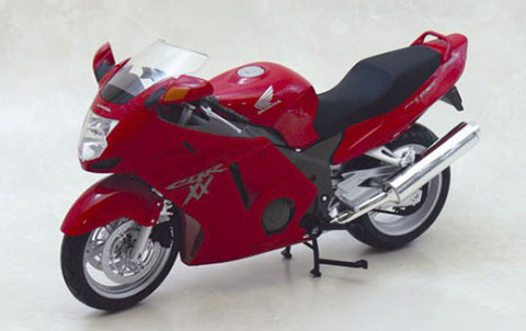 1/12 Complete Motorcycle Model Honda CBR1100XX Super Black Bird (Red)(Released)1/12 完成品バイク ホンダ CBR1100XXスーパーブラックバード(レッド)Accessory