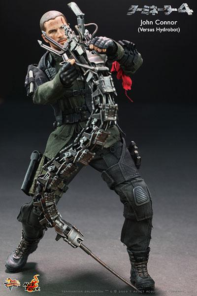 【クリックで詳細表示】ムービー・マスターピース ターミネーター4 1/6スケールフィギュア ジョン・コナー(VSハイドロボット版)[ホットトイズ]《在庫切れ》Movie Masterpiece - 1/6 Scale Fully Poseable Figure:Terminator 4 - John Connor (Versus Hydrobot)