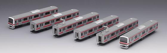 92807 JR 209-500系 通勤電車(京葉線)セット(6両)(再販)[TOMIX]【送料無料】《06月予約》