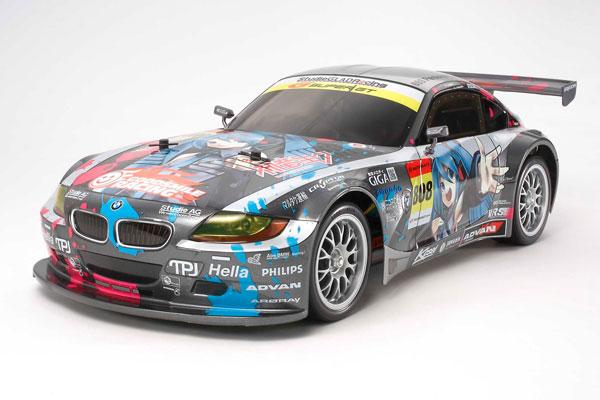 1/10電動RCカー 初音ミク Studio GLAD BMW Z4(TT-01 TYPE-E)[タミヤ]《在庫切れ》