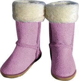 【クリックで詳細表示】1/6スケール 女性素体用 ボアブーツ ピンク(ドール用小物)[インハウス・プロダクション]《在庫切れ》InHouse Production - Female Footwear: Fashion Boot (Pink Ver.) iH-004B