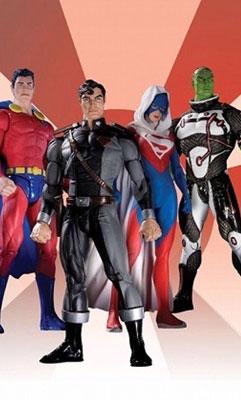 【クリックでお店のこの商品のページへ】スーパーマン:ニュー・クリプトン シリーズ1/ 4種アソート カートン[DCダイレクト]《在庫切れ》Superman New Krypton: Action Figure Series 1(Asst.)