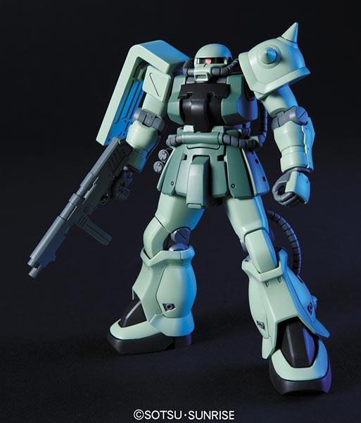 HGUC 1/144 F2ザク ジオン仕様 プラモデル