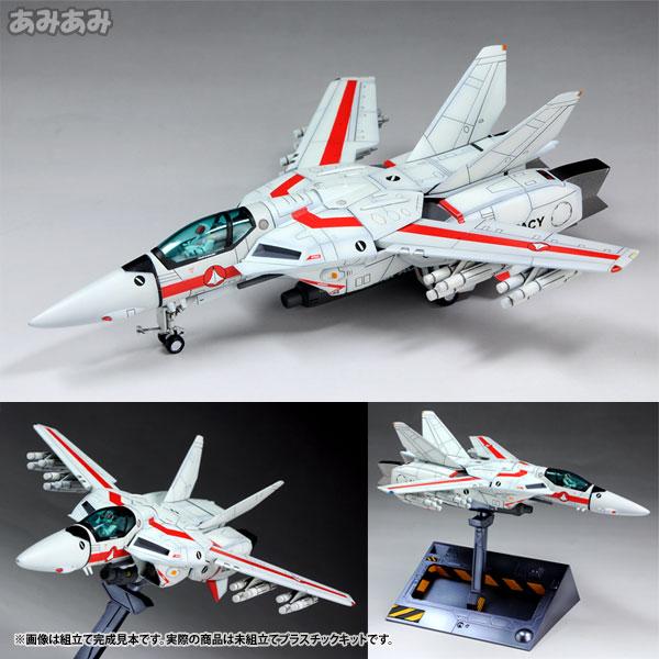 超時空要塞マクロス 1/100 VF-1J バルキリー ファイター 一条輝 機 プラモデル(再販)[WAVE]《在庫切れ》