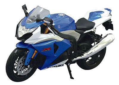 1/12 Complete Motorcycle Model SUZUKI GSX R1000 (Blue)(Tentative Pre-order)1/12 完成品バイク スズキ GSX R1000(ブルー)Accessory