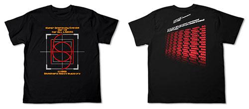 機動警察パトレイバー HOS Tシャツ/ブラック-XL