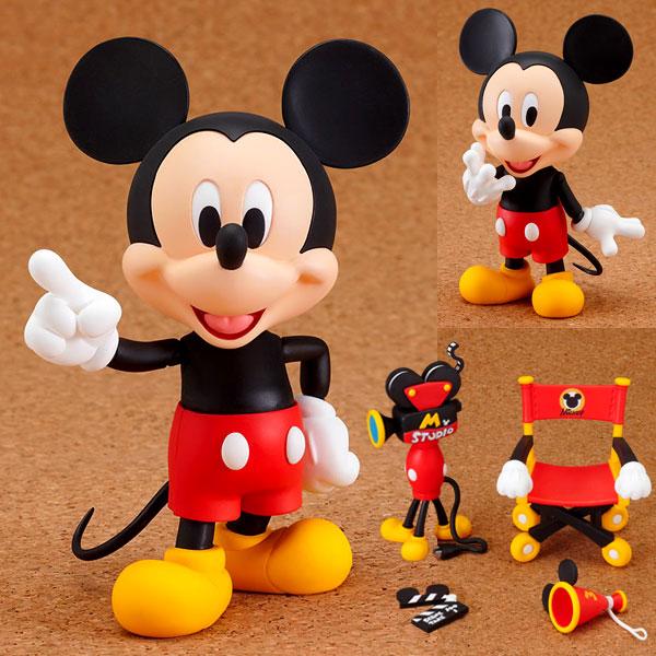 ねんどろいど ミッキーマウス 塗装済み可動フィギュア[グッドスマイルカンパニー]《在庫切れ》
