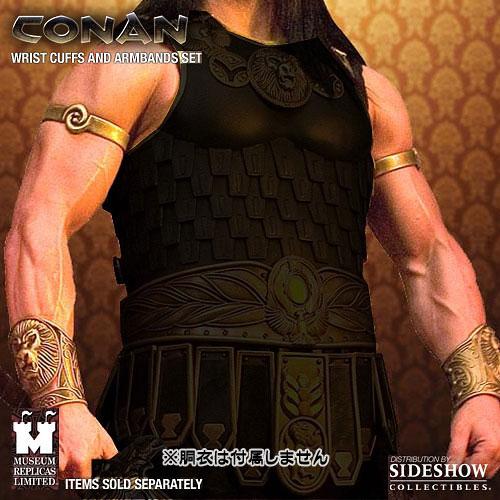 【クリックで詳細表示】エイジ・オブ・コナン リストカフス&アームバンド プロップレプリカ セット[ミュージアムレプリカ]《在庫切れ》Age of Conan - Prop Replica: Wrist Cuffs & Armbands Set