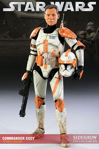 【クリックで詳細表示】スター・ウォーズ 1/6スケールフィギュア コマンダー・コーディ 単品【ミリタリーズ・オブ・スター・ウォーズ】[サイドショウ]《在庫切れ》Star Wars - 1/6 Scale Fully Poseable Figure: Militaries Of Star Wars - Commander Cody