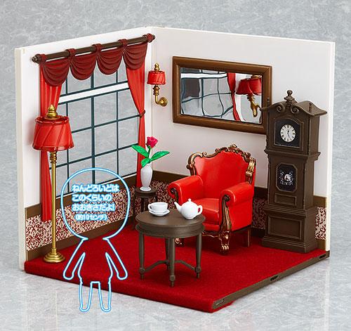 ねんどろいどプレイセット#4 洋館Aセット(窓側)[ファット・カンパニー]《在庫切れ》