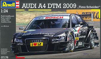 1/24 アウディ A4 DTM '09 T.シャイダー プラモデル(再販)[ドイツレベル]《在庫切れ》