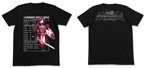 ToHeart2 ダンジョントラベラーズ 環ファイターTシャツ/ブラック-L(再販)[コスパ]《在庫切れ》