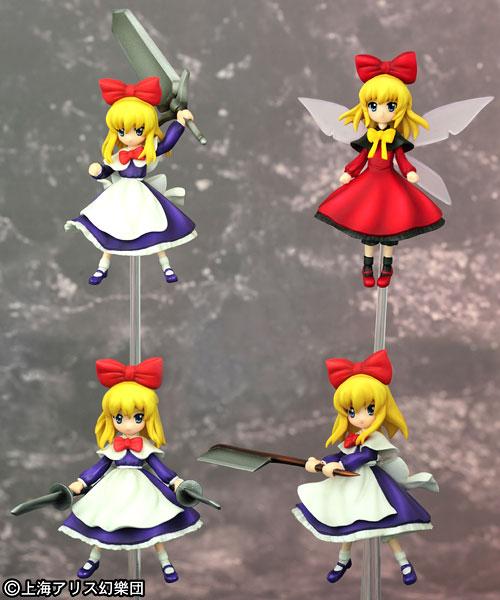東方プロジェクト ノンスケール アリスの人形セット 完成品フィギュア[グリフォンエンタープライズ]《取り寄せ※暫定》