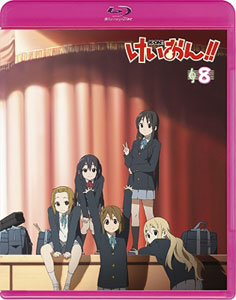 BD けいおん!! (第2期) 8 Blu-ray 初回限定生産