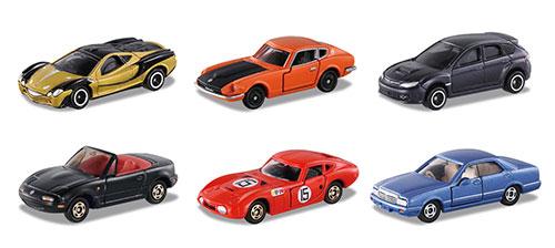 オリジナルトミカ あこがれの名車セレクション3 6種各2個入りBOX[トイズ・ドリーム・プロジェクト]《在庫切れ》