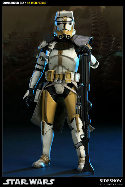 【クリックで詳細表示】スター・ウォーズ 1/6スケールフィギュア コマンダー・ブライ 単品【ミリタリーズ・オブ・スター・ウォーズ】[サイドショウ]《在庫切れ》Star Wars - 1/6 Scale Fully Poseable Figure: Militaries Of Star Wars - Commander Bly