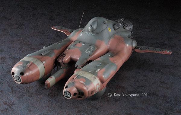 マシーネンクリーガー 1/20 反重力装甲戦闘機 Pkf.85bis グリフォン プラモデル(再販)[ハセガワ]《発売済・在庫品》