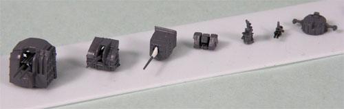 1/700 ネオ イクイップメントシリーズ 日本海軍艦船装備セット(3) プラモデル(再販)[ピットロード]《発売済・在庫品》