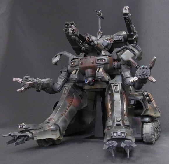 GUNHED(ガンヘッド) 少年リック&イリサワ流通限定 塗装済完成品(一部組立式)【同梱不可】[エクスプラス]《在庫切れ》