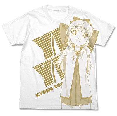 ゆるゆり 歳納京子 Tシャツ/ホワイト-M[コスパ]《予約商品09月発売》