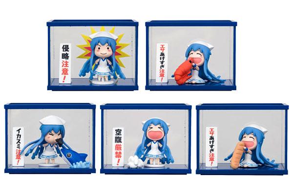 侵略!?イカ娘 ミニイカ娘 minimini飼育キット(コレクションフィギュア) BOX