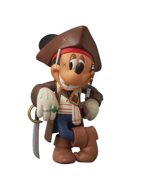 ヴァイナルコレクティブルドール No.185 ミッキーマウス(ジャック・スパロウ Ver.2.0)[メディコム・トイ]《取り寄せ※暫定》