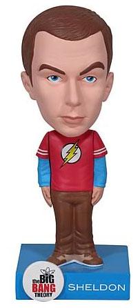 【クリックで詳細表示】ワッキーワブラー ビッグバン★セオリー/ギークなボクらの恋愛法則 シェルドン 単品[ファンコ]《在庫切れ》Wacky Wobbler - The Big Bang Theory: Sheldon