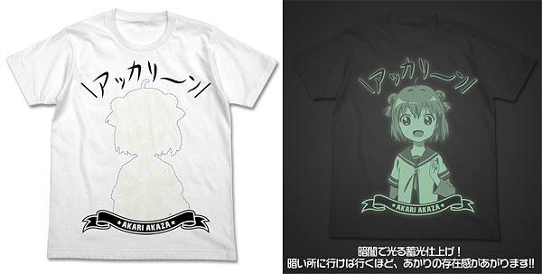 ゆるゆり アッカリーン Tシャツ/ホワイト-L