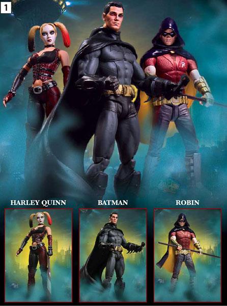 蝙蝠侠 阿卡姆 三种 series figure dc action 12月/製品仕様【サイズ】