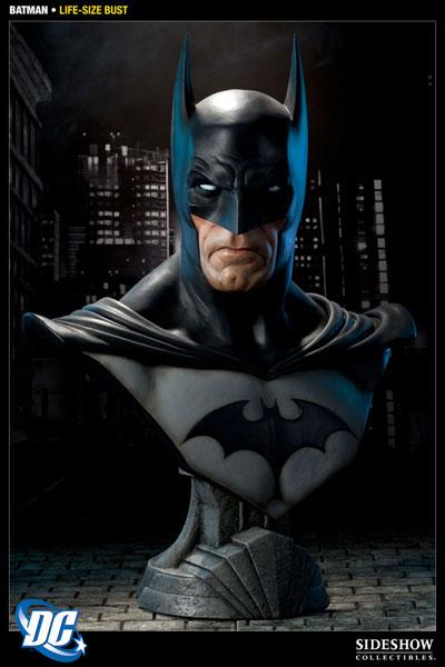 DC バットマン ライフサイズバスト 単品[サイドショウ]【同梱不可】《在庫切れ》