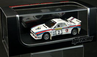 【クリックで詳細表示】モデルカー 1/43 ランチア 037 ラリー(#2) 1983 1000湖[hpi]《発売済・取り寄せ※暫定》