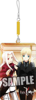 TVアニメーション Fate/Zero 携帯クリーナーDX セイバー&アイリ[ブロッコリー]《在庫切れ》