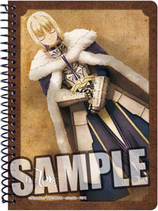 TVアニメーション Fate/Zero A6リングノート セイバー[ブロッコリー]《在庫切れ》