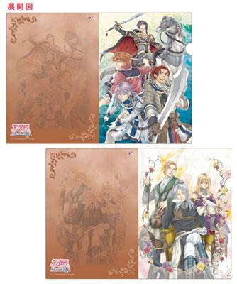 アンジェリーク 魔恋の六騎士 クリアファイルセット(2枚組)[コーエーテクモゲームス]《在庫切れ》