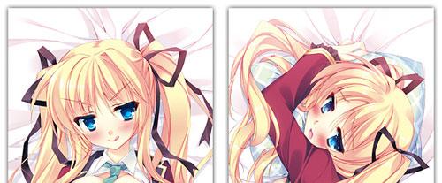 三鈴めい先生描きおろし オリジナルキャラクター「和泉彩夏」描きおろし抱き枕カバー[CranCrownBlack]《在庫切れ》