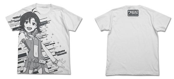 THE IDOLM@STER(アイドルマスター) アニメ 菊地真 オールプリントTシャツ/ホワイト-M(再販)[コスパ]《在庫切れ》