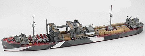 【クリックで詳細表示】1/700 日本陸軍防空船 靖川丸 YASUKAWA MARU 1941 レジンキット(再販)[ニコモデル]《在庫切れ》