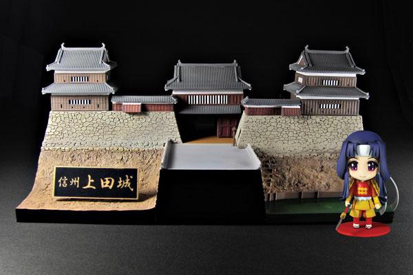 プラモデル 1/200 信州 上田城 -小松姫セット- ミニフィギュア付き[プラム]《在庫切れ》