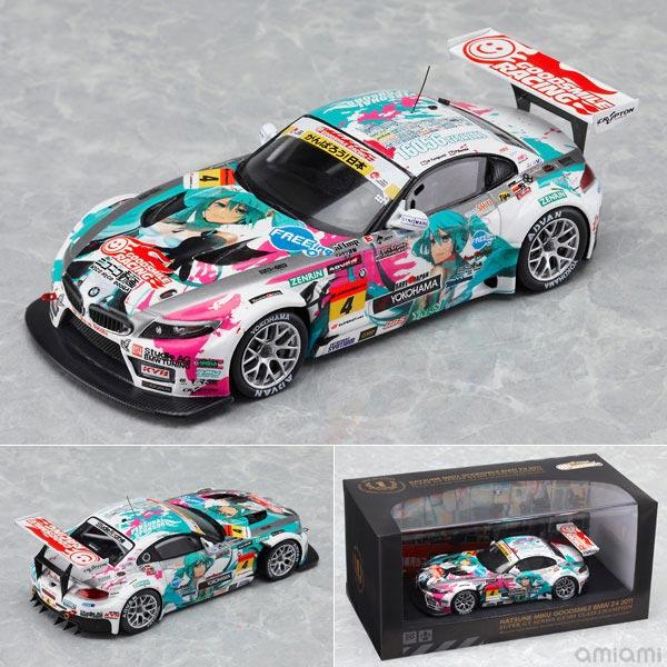 レジン製ミニカー 1/43 Racingミク 初音ミク GOODSMILE BMW Z4 2011シリーズ優勝 Ver.[グッドスマイルレーシング]《在庫切れ》